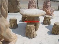 供应石雕圆桌 圆桌石雕