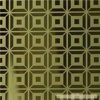 Supply gold plate etched pattern