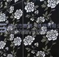 Supply of colored stainless steel, colored stainless steel black pattern etched plate
