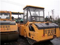 供應三一12噸雙鋼輪壓路機,徐工輪胎式壓路機,二手震動壓路機