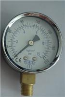 供應0-15KG壓力表/公斤表,氮氣壓力表,電接點壓力表
