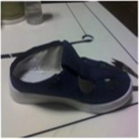 批发防静电帆布四眼鞋|防静电布鞋。