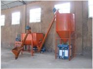安徽卧式全自动腻子粉搅拌机 机械行业设备 厂家 价格 免费提供配方