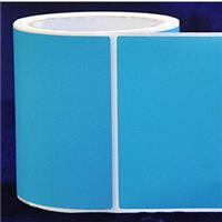 100 * 150 * 700 light sky blue stain etching adhesive label paper carton bar code label printers