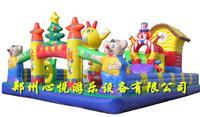 维尼宝贝熊充气城堡11-7儿童户外充气汽包蹦蹦床 充气玩具跳跳床