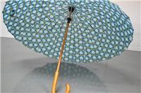 供给出口24骨木质长柄弯钩外贸伞 深圳雨伞厂家定制伞 创意雨伞