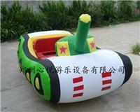 坦克充气电瓶车 气模车子外罩 卡通单人充气电瓶车 儿童电动车
