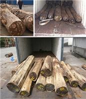 Laos agents de douane à l'importation de teck