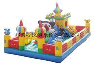 心悦50平方米奇城堡乐园儿童充气蹦蹦床/充气城堡/儿童蹦床厂家报价