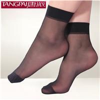 夏季*薄短絲襪 天鵝絨透氣防脫絲襪對對襪子女士短襪