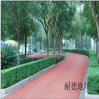 紅色瀝青混凝土路面 綠色自行車道 彩色路面 彩色瀝青路面施工造價