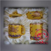 定制促销活动礼品陶瓷烟灰缸 创意个性烟灰缸加LOGO