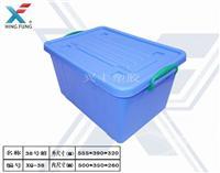 供應湖北**消毒餐具周轉箱鐵錘打不爛塑膠箱