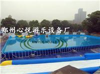 河南哪里有卖儿童支架游泳池的,大型支架水池水上乐园