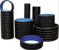供甘肃HDPE塑钢缠绕管和兰州钢带缠绕管