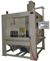 自动喷砂机 转盘式喷砂机 自动回砂除尘系统
