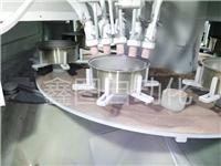 自动转台喷砂机 自动转盘喷砂机 12枪自动喷砂机