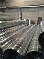 镀锌螺旋风管应用 螺旋风管应用场所 江大螺旋风管厂家