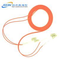 可定制廠家**lc-LC小方頭多模雙芯光纖跳線尾纖