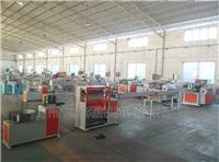 广州联信仿藤机 塑料藤条生产线