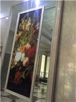 绵阳装饰装修玻璃批发供应,彩绘玻璃隔断装饰屏风