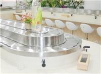天水自助旋转寿司设备 小火锅输送带专业生产厂家