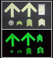 设计、制作、加工地铁蓄光导向系统标识  地铁常用夜光标识标牌