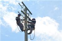 黄岛电力安装设备施工建设,电缆布线