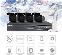 深圳监控摄像头安装,海康400万视频监控系统安装