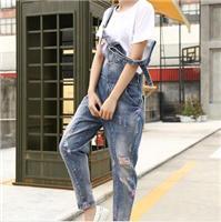 夏季女士休閑褲批發,韓版時尚連體褲,廠家**,一件代發!
