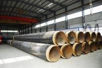 河北鑫丰达管道防腐保温工程有限公司钢套钢蒸汽管道耐高温保温钢管