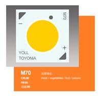供TOYONIA第二覆晶结构无金线封装MD系列COB光源M 70 发光面小