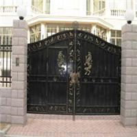 供甘肃围墙大门和酒泉公园铁艺大门品质优