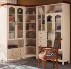 地中海组合书柜 书房转角书柜 两门书柜 三门书柜