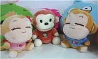 广州番禺毛绒玩具定制,毛绒公仔厂家定制,定制企业吉祥物公仔价格