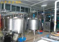 豆奶生产工艺 豆汁生产设备 小型饮料生产线