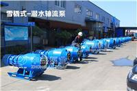 中蓝可移动式雪橇式轴流泵 优质潜水轴流泵厂家