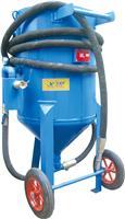 移动开放式喷砂罐自动阀石碑石材瓷砖雕刻专用喷砂机高压增压设备