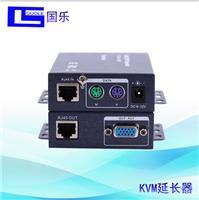國樂GL-KY03KVM延長300米VGA轉rj45放大器usb鍵盤鼠標VGA網線延長器 300米延長器