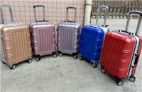狼爵仕PC铝框个性时尚拉杆箱万向轮旅行箱20寸24寸旅游行李箱登机箱