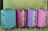 狼爵仕803 20寸24寸经典铝框带水杯海关锁高档行李箱、拉杆箱 旅行登机箱