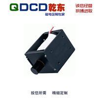 厂家直销 QDU1249L 圆管框架推拉保持直流电磁铁 可非标定制