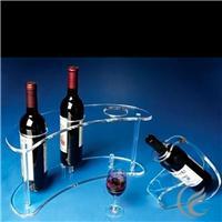 郑州亚克力郑州有机玻璃红酒展架