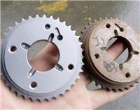 变速箱同步器齿轮专用自动喷砂机