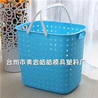 新款塑料脏衣篮模具 脏衣篮模具  塑料篮子模具