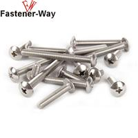 304不锈钢 大扁头自攻螺丝钉 木螺钉 十字蘑菇头螺丝
