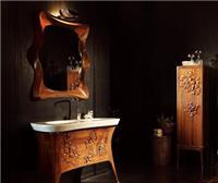 浴家居高第实木浴室柜香草天空