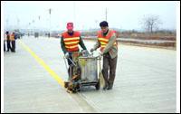 交通设备 交通设施 标线划线厂家 小区厂房划线 停车场划线 地下车库设计