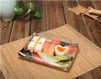 印花寿司盒子-外卖寿司盒批发-塑料寿司盒子