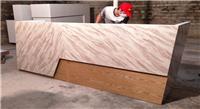 木制烤漆大理石收銀臺